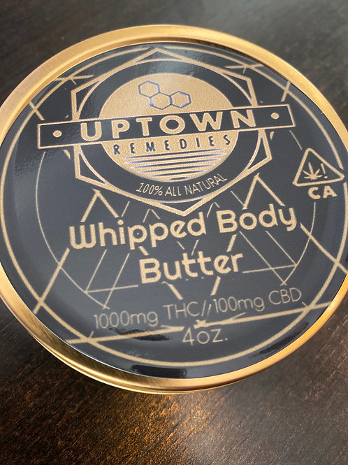 4 oz Whipped Body Butter