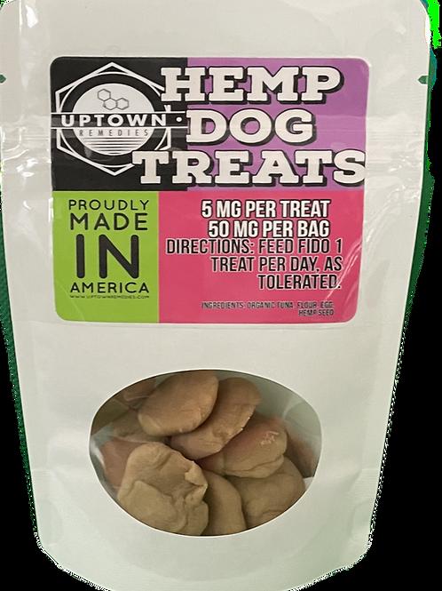 Hemp dog treats