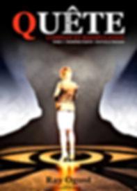 Couverture Quete livre 1 Nouvelle editio