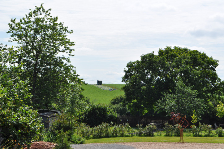 View from Glamping Area