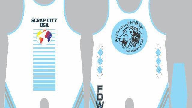 FDWC Singlet Baby Blue