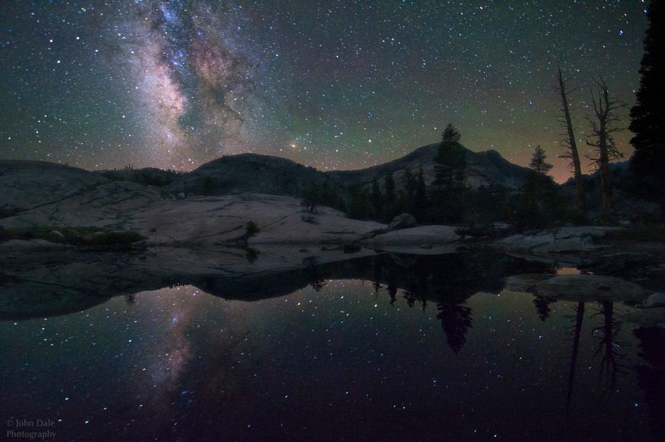 Reflection of the Galaxy.