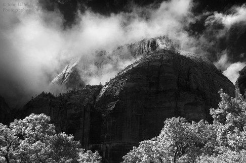 Zion Clearing Storm