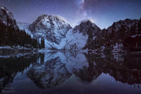 Night at Colchuck Lake