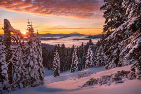 Mt. Ashland Sunrise