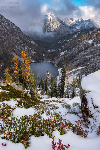 North Cascades Autumn Snow
