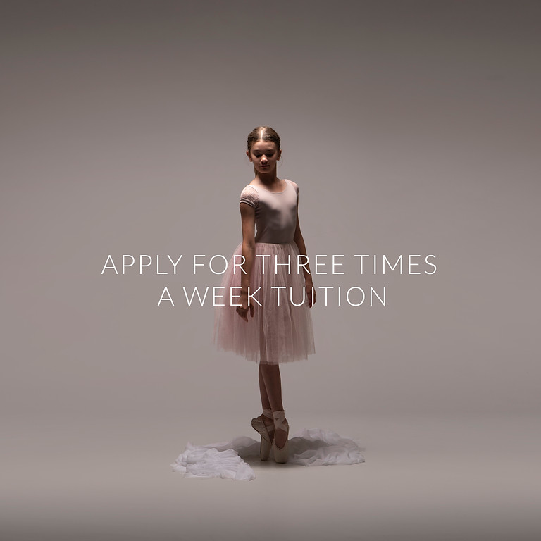 Apply for Three times a Week Tuition