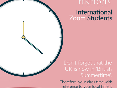International Zoom Students