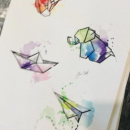 Origamis versión 2