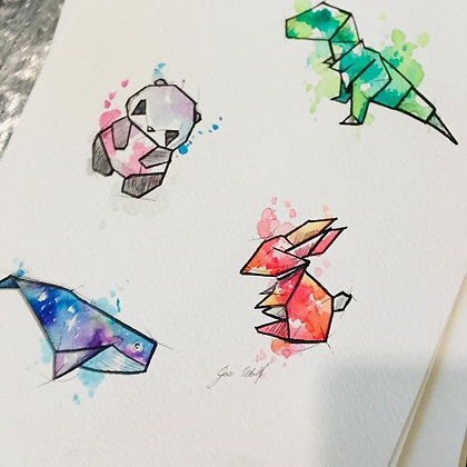 Origamis versión 1