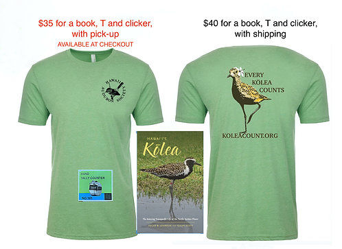 Kolea T, Clicker, & Hawai'i's Kōlea (book)