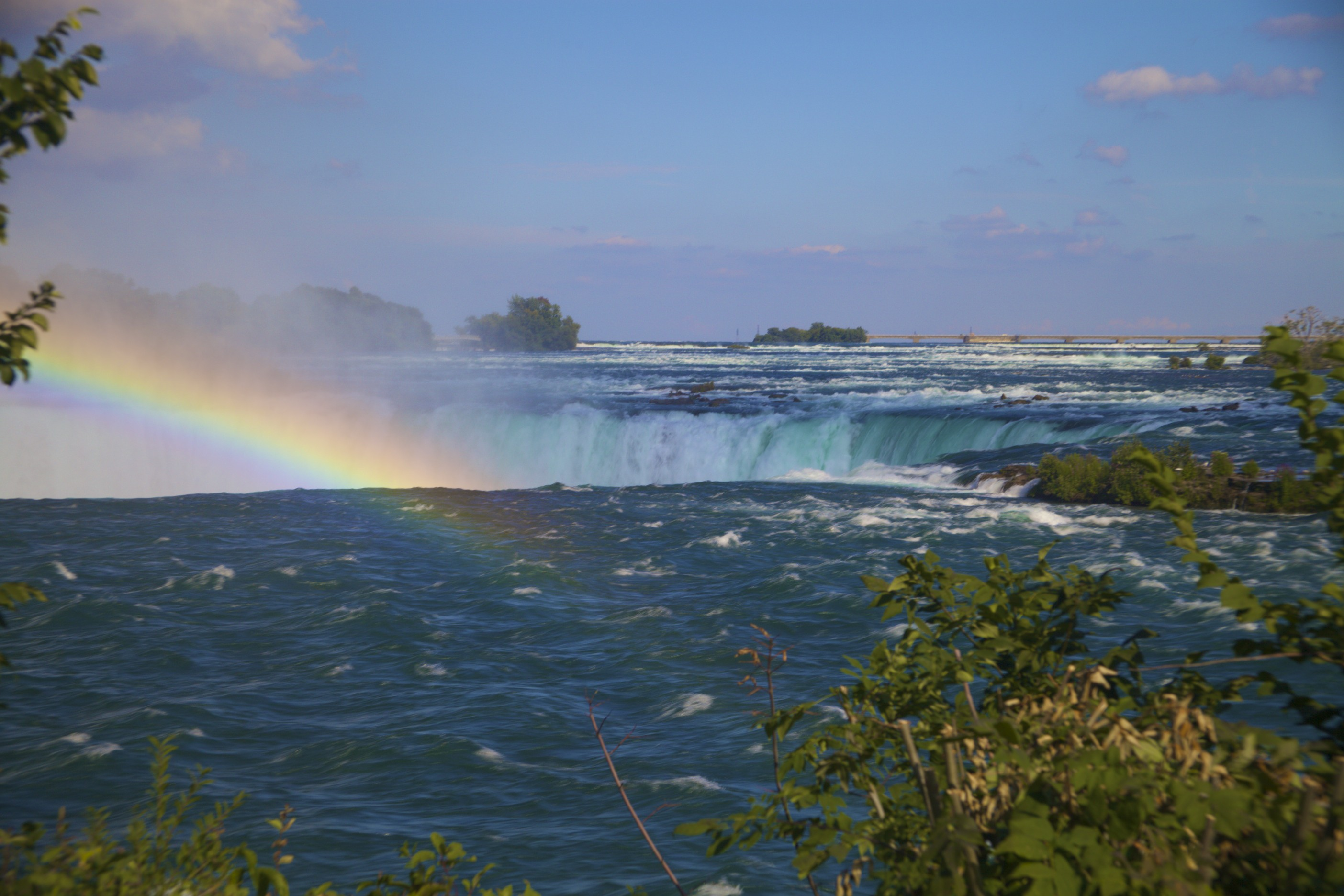 Going over Horseshoe Falls @ Niagara