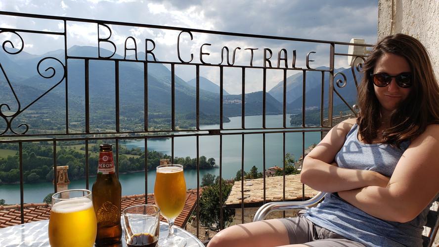 Emma in Barrea, Italy - Aug. 2019