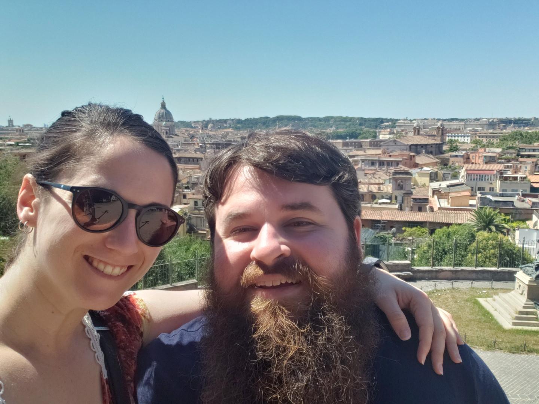 Emma & Patrick in Rome, Italy - Aug. 2019
