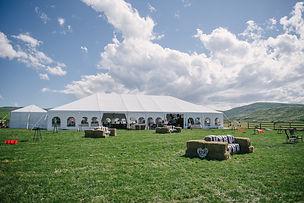 Aztec Wedding Tent
