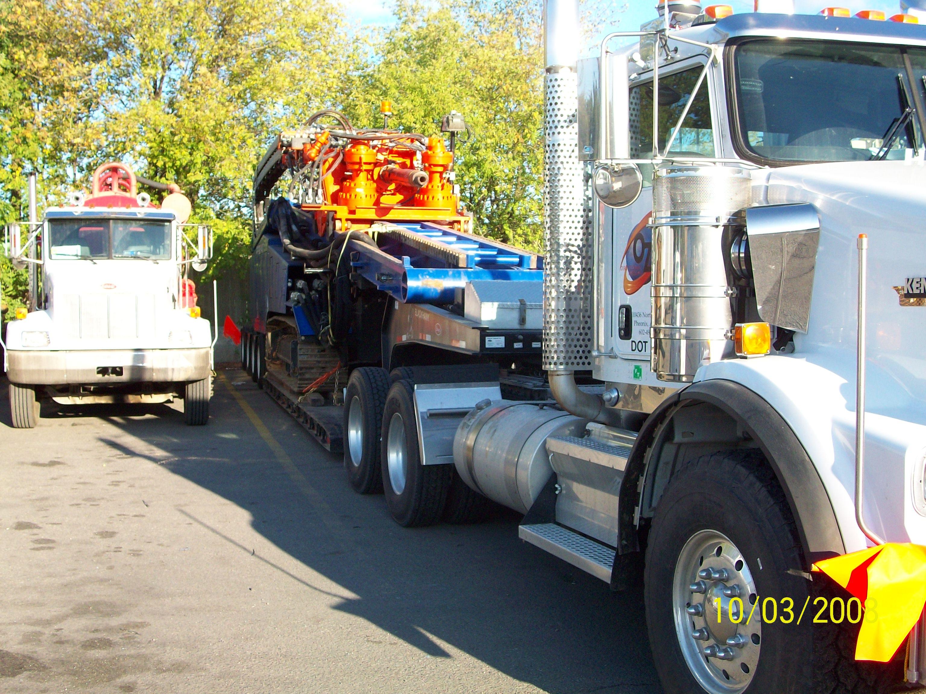Drill Rig & Vac Truck