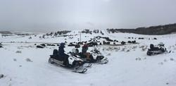 Bison Snowmobile Tour