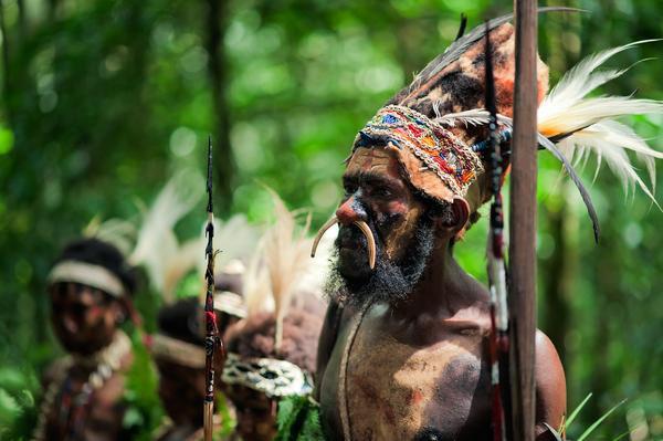 papou Nouvelle Guinée animisme