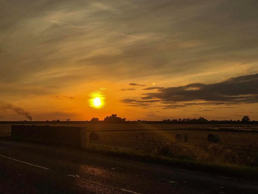 Country Sunset, Cambridgeshire