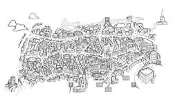 Norwich Lanes Map