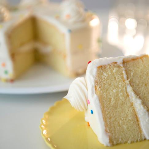 Weißer Kuchen