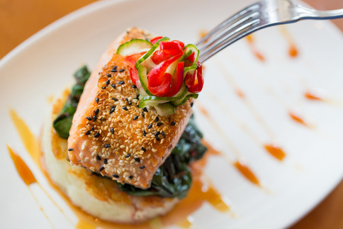 Food Dance Salmon