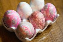 Easter Eggs- Tie Dye.