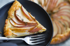 Pear and Thyme Tart