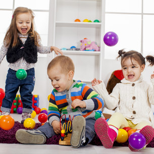 Kids play room.