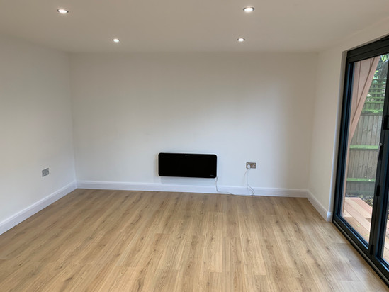 Internal finish, ready to move in