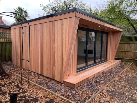 Imported westeren red cedar cladding