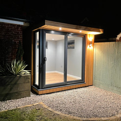 2.5m x 3.5m garden office