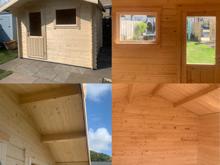 3m x 3m Summerhouse / Log Cabin
