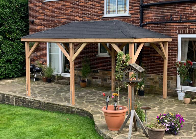 5m x 3m Rectangle Gazebo