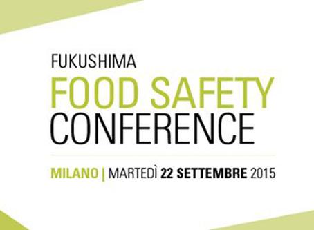 Fukushima. Food Safety Conference