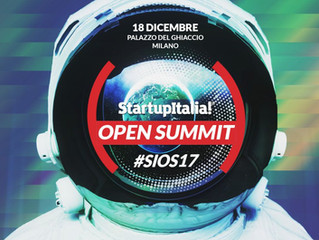 SAVE THIS PLANET - Start-up Italia Open Summit 2017