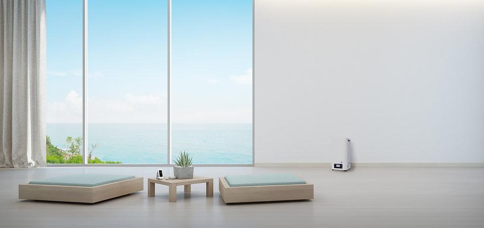 indoor-plant-wooden-coffee-table-minimal