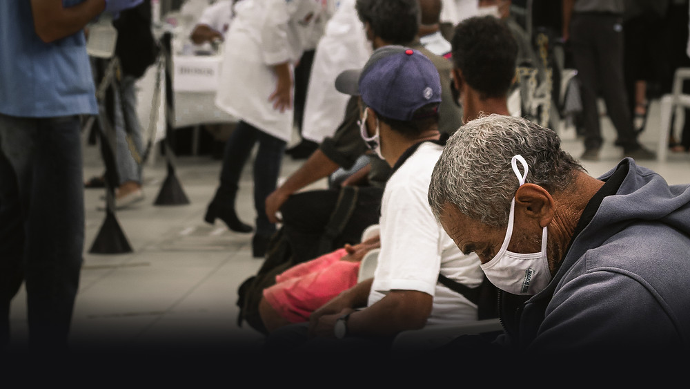morador de rua - vacina - pandemia - população de rua - mendigo