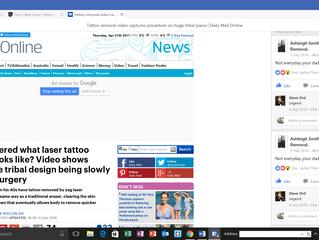 Laser-lite on the Mail Online