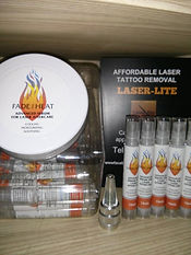Laser tattoo removal aftercare serum Fade the Heat