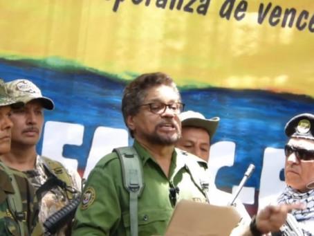 'Iván Márquez', 'Santrich' y 'El Paisa' anuncian su regreso a las armas