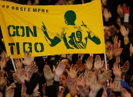 Emotivo homenaje a Emiliano Sala en el partido del Nantes