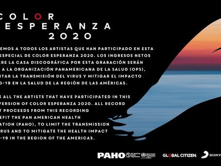 """""""Color Esperanza"""" para luchar contra el coronavirus"""