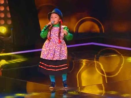 Niña campesina se robó el show en 'La Voz Kids' Colombia