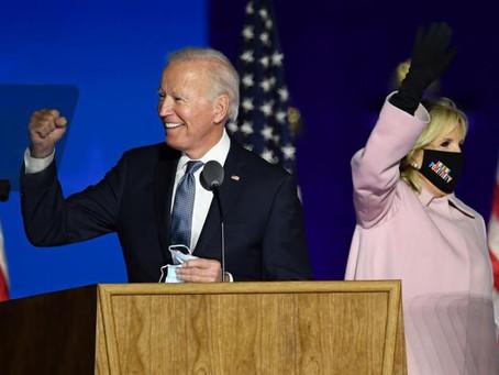 Joe Biden es el presidente electo de EEUU tras imponerse en Pennsylvania y superar los 270 votos