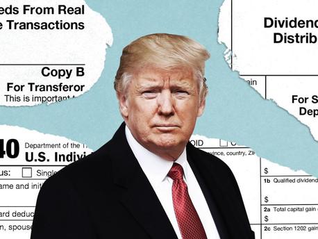 El fiscal de Manhattan,  ya tiene las declaraciones de impuestos de Trump