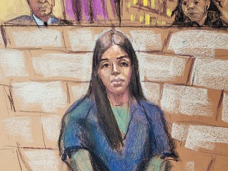 La esposa del Chapo enfrenta cadena perpetua
