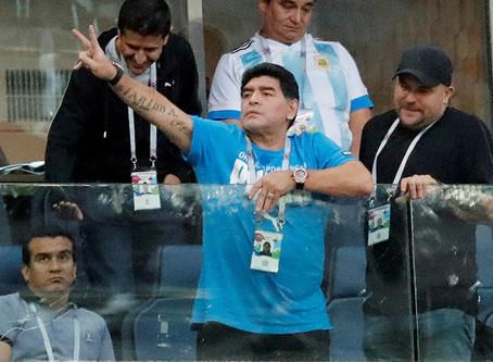 10.000 dólares de recompensa para decir quién dio por muerto a Maradona en Rusia 2018