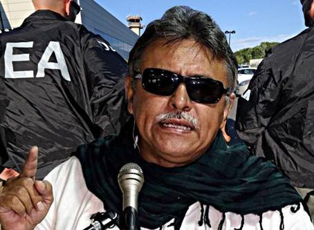 Golpe al acuerdo Santos-Farc, jefe guerrillero Santrich capturado por narco.