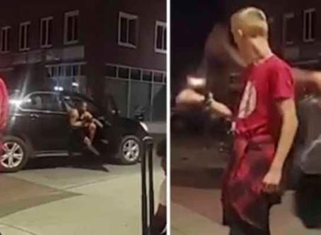 Identifican al hombre negro que le dio un puñetazo a un niño blanco de 12 años